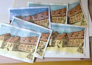 Nürnberger Burg Holzschnitt