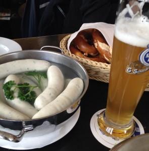 Weisswurstfrühstück