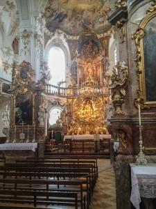 Andechs Klosterkirche Altar