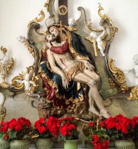 Andechs Klosterkirche Pieta
