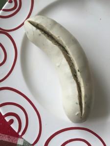 Weißwurst, Prinzregentenschnitt