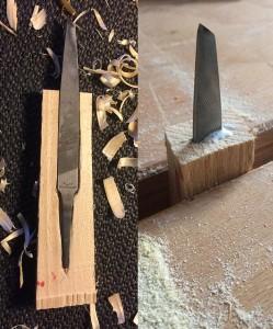 Schnitzmesser aus Feile selbermachen