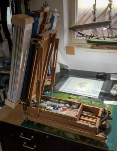 Feldstaffelei Plein Air Malerei