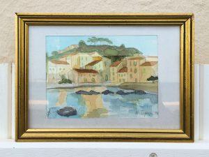 St. Tropez - Aquarellstudie Alexander Broy